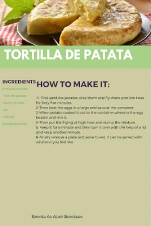 33. Potato Omelette