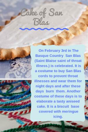 42. Cake of San Blas