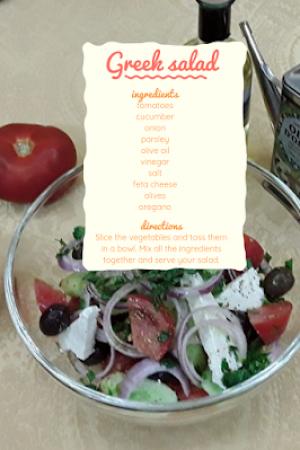54.Greek salad